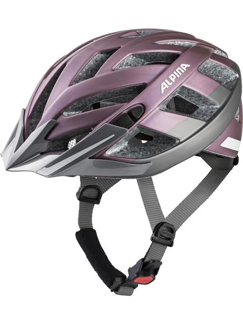 Alpina Panoma 2.0 City Helmet rose-darksilver reflective
